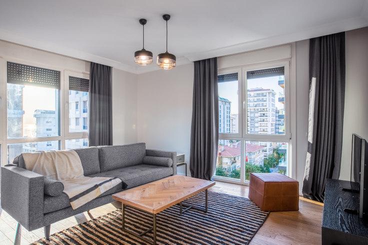 2 bedroom furnished apartment in Yazıcı Residence - 419 419, Suadiye, Istanbul, photo 1