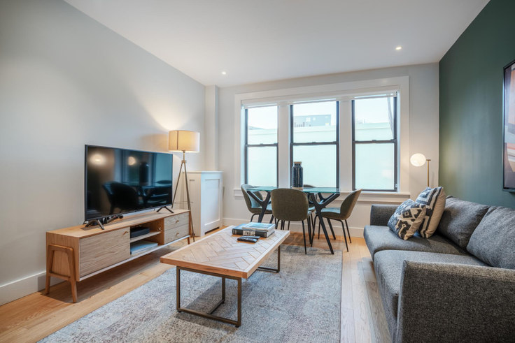 2 bedroom furnished apartment in 4 Elko St 182, Brighton, Boston, photo 1