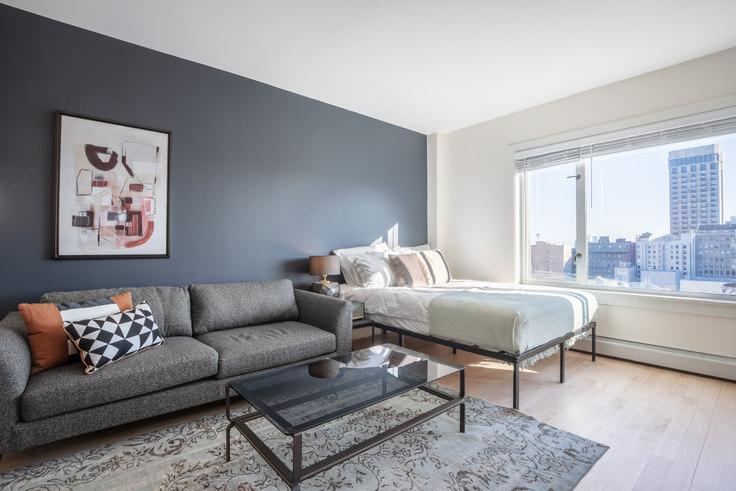 Studio furnished apartment in Pinnacle at Nob Hill, 899 Pine St 236, Nob Hill, San Francisco Bay Area, photo 1