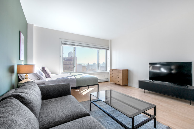 Studio furnished apartment in Pinnacle at Nob Hill, 899 Pine St 237, Nob Hill, San Francisco Bay Area, photo 1