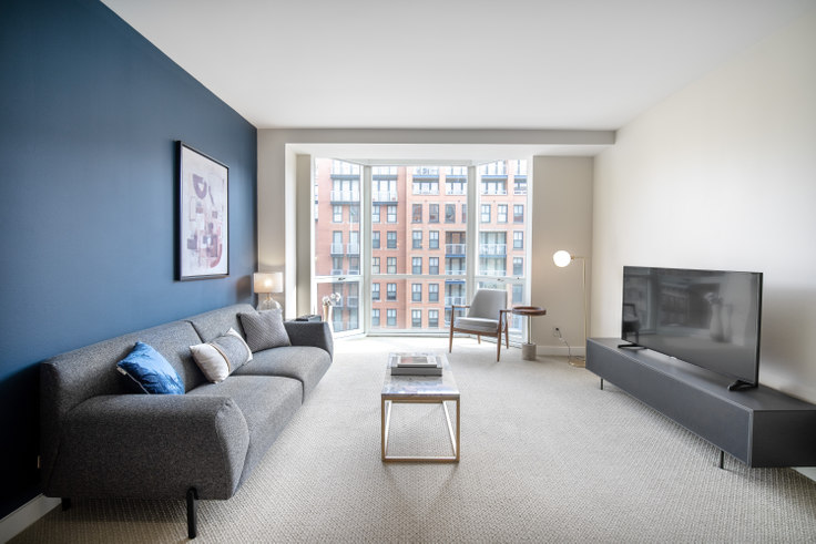 1 bedroom furnished apartment in The Lansburgh, 425 8th St NW 138, Penn Quarter, Washington D.C., photo 1