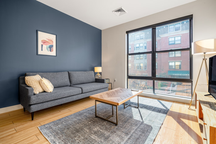 1 bedroom furnished apartment in West Square, 320 D St 189, South Boston, Boston, photo 1