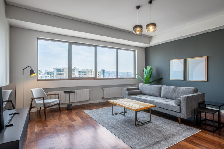 3 bedroom furnished apartment in Palladium - 426 426, Batı Ataşehir, Istanbul, photo 1