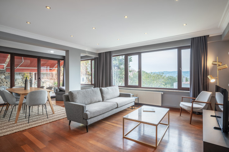 3 bedroom furnished apartment in Dilek - 427 427, Bebek, Istanbul, photo 1