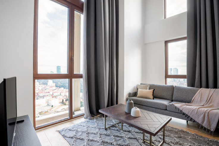 1 bedroom furnished apartment in Nef163 Loft - 428 428, Levent, Istanbul, photo 1