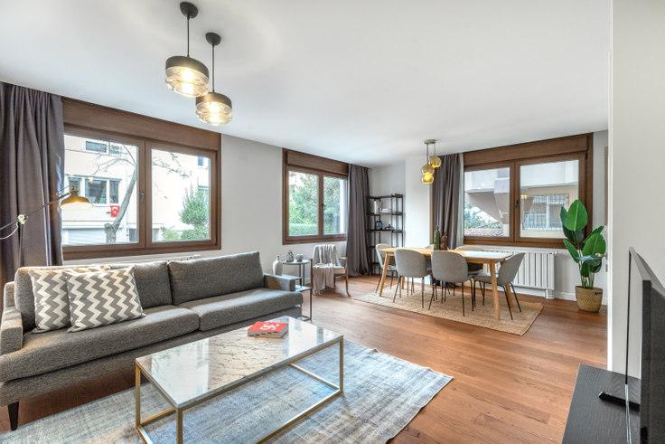 3 bedroom furnished apartment in Bayraktar - 433 433, Etiler, Istanbul, photo 1