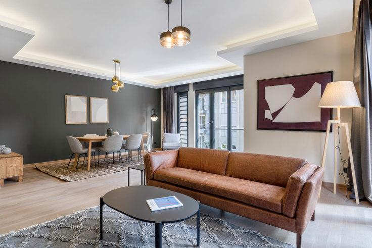 3 bedroom furnished apartment in Anılarım - 435 435, Erenköy, Istanbul, photo 1