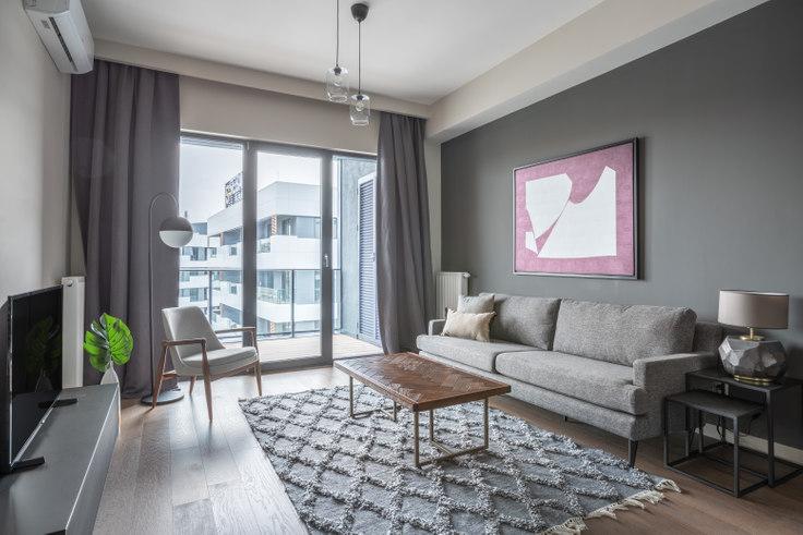 1 bedroom furnished apartment in Porta Vadi - 436 436, Ayazağa, Istanbul, photo 1