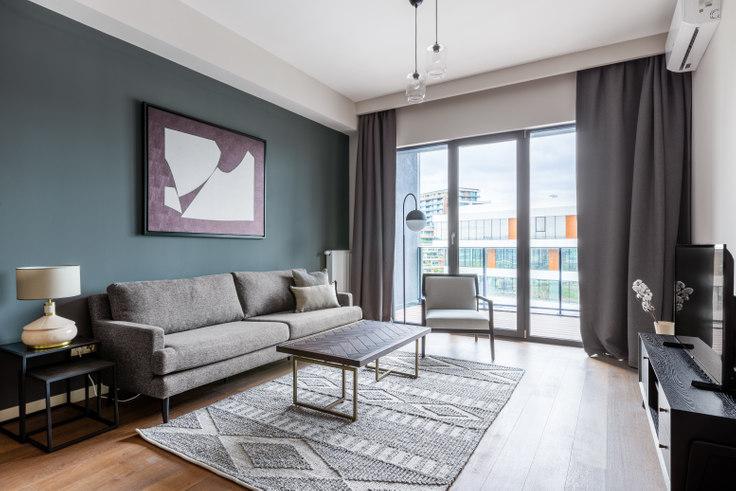 1 bedroom furnished apartment in Porta Vadi - 437 437, Ayazağa, Istanbul, photo 1