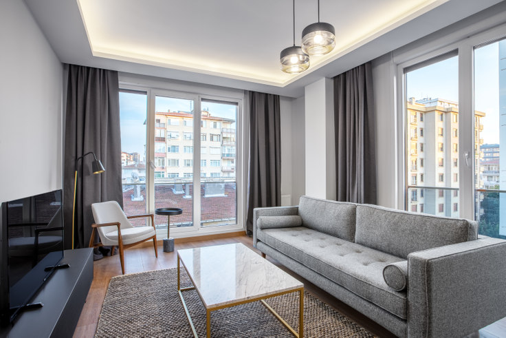 2 bedroom furnished apartment in Eren - 438 438, Erenköy, Istanbul, photo 1
