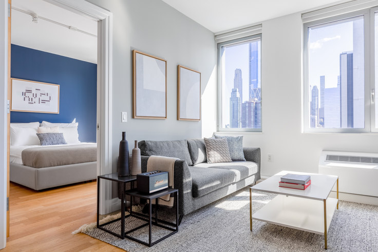 1 bedroom furnished apartment in Instrata Mercedes House, 550 W 54th St 407, Midtown West, New York, photo 1