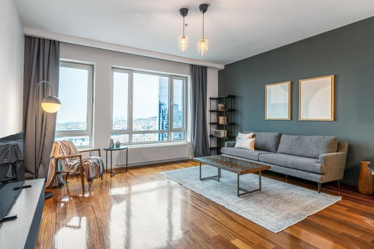 1 bedroom furnished apartment in Selenium 34 - 440 440, Sisli, Istanbul, photo 1