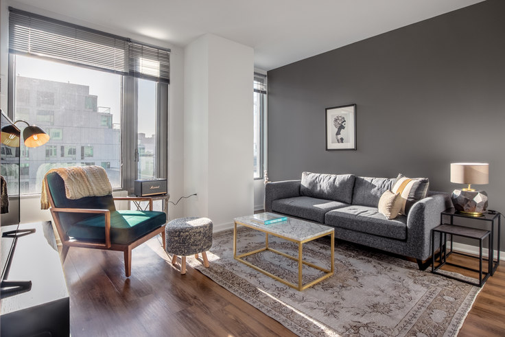 1 bedroom furnished apartment in Mosso 900, 900 Folsom St 246, SoMa, San Francisco Bay Area, photo 1