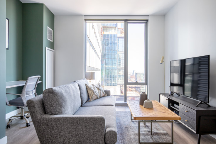 1 bedroom furnished apartment in Hub50House, 50 Causeway St 209, North Station, Boston, photo 1