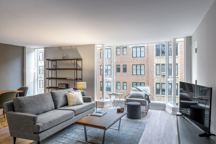 2 bedroom furnished apartment in 227 E Walton Pl 175, Streeterville, Chicago, photo 1
