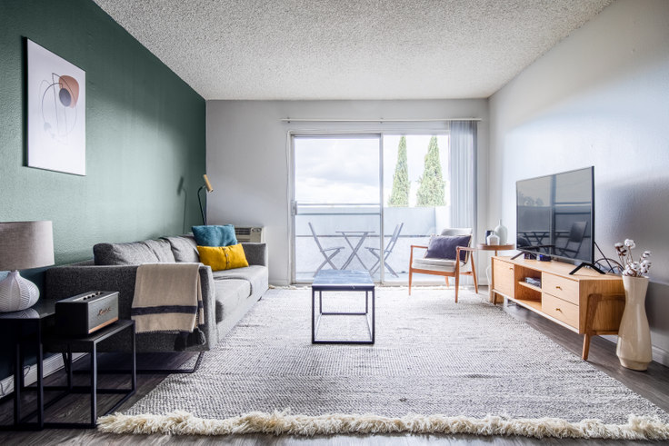 1 bedroom furnished apartment in Violet on Virgil 2, 136 S Virgil Ave 214, Koreatown, Los Angeles, photo 1
