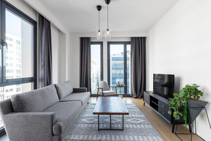 3 bedroom furnished apartment in Arkadia - 445 445, Göztepe, Istanbul, photo 1