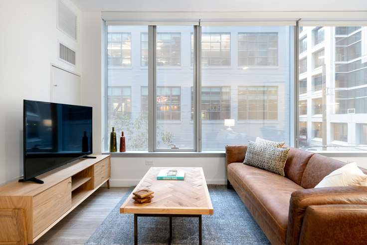 1 bedroom furnished apartment in 33 Tehama St 253, Rincon Hill, San Francisco Bay Area, photo 1