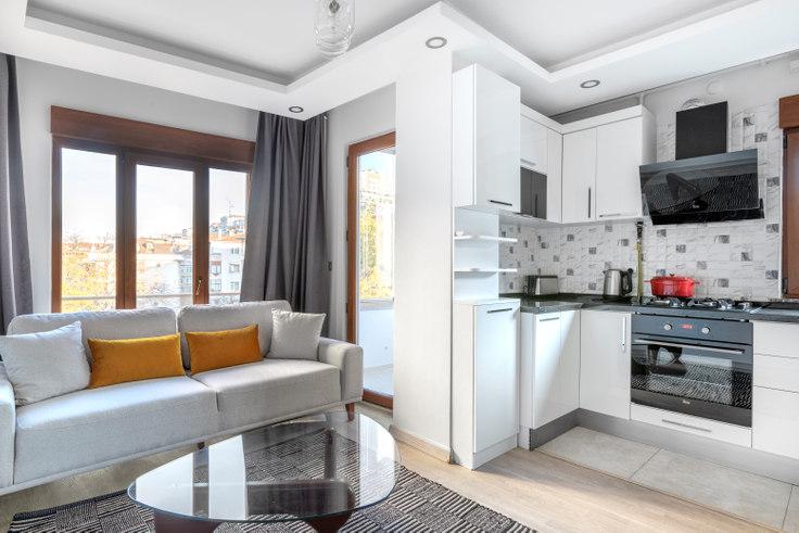 2 bedroom furnished apartment in Ulku - 448 448, Kadikoy, Istanbul, photo 1