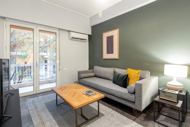 2 bedroom furnished apartment in Sisini III 820, Vasilissis Sofias Avenue, Athens, photo 1