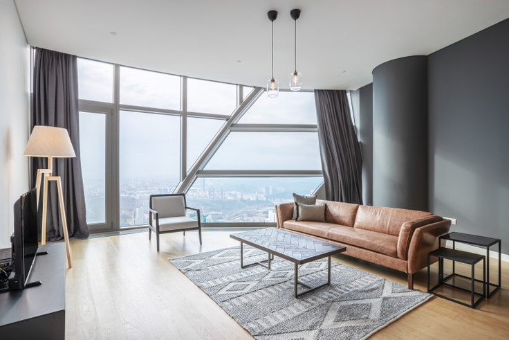 2 bedroom furnished apartment in Spine - 452 452, Maslak, Istanbul, photo 1