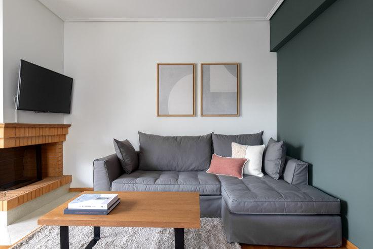 2 bedroom furnished apartment in Lesvou II 823, Vrilissia, Athens, photo 1