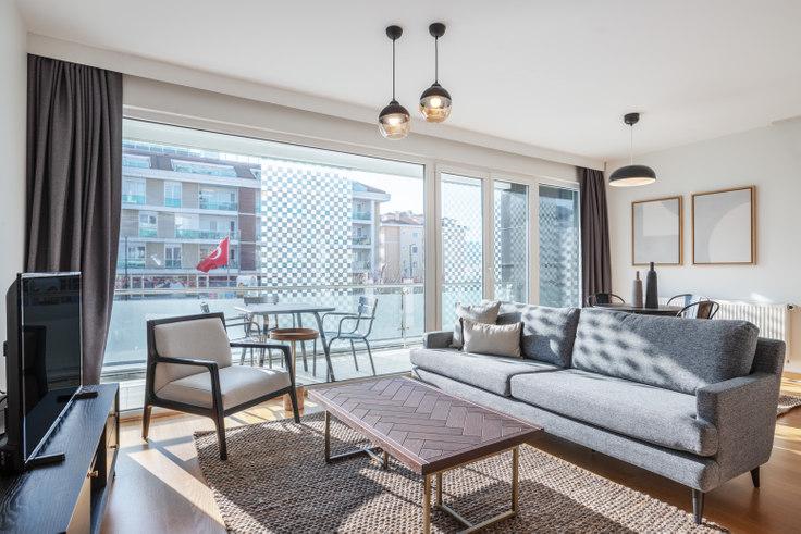 1 bedroom furnished apartment in Su Venue - 453 453, Göktürk, Istanbul, photo 1