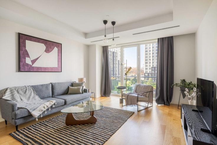 3 bedroom furnished apartment in Mashattan - 463 463, Maslak, Istanbul, photo 1