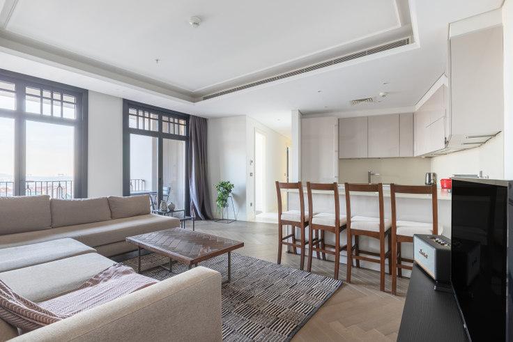 2 bedroom furnished apartment in Nisbetiye On - 464 464, Beşiktaş, Istanbul, photo 1