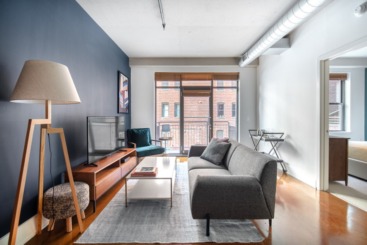 1 bedroom furnished apartment in The Hudson, 1425 P St NW 155, Logan Circle, Washington D.C., photo 1