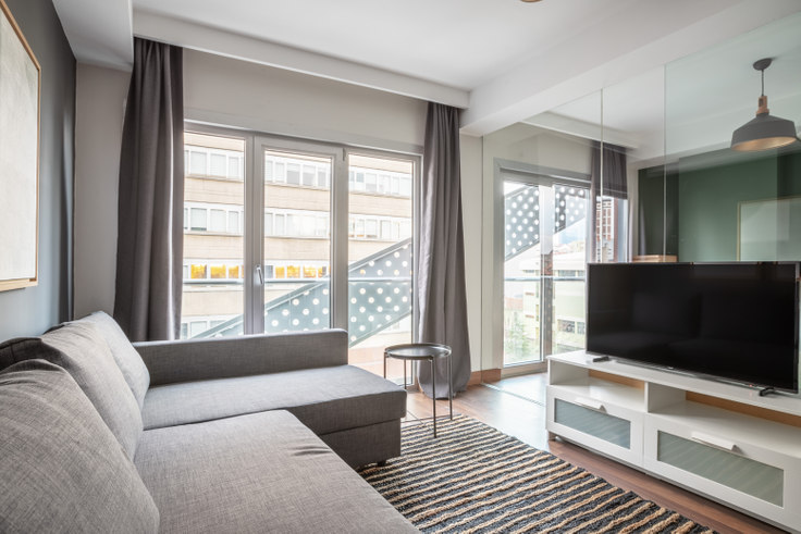 1 bedroom furnished apartment in Motivada - 465 465, Bomonti, Istanbul, photo 1