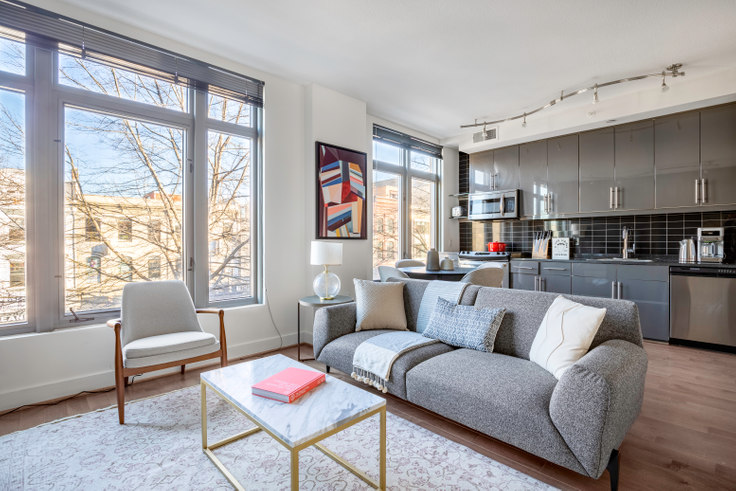 1 bedroom furnished apartment in The Bentley, 1328 14th Street NW 156, Logan Circle, Washington D.C., photo 1