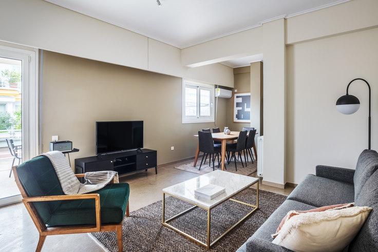 2 bedroom furnished apartment in Dinokratous VII 844, Kolonaki, Athens, photo 1