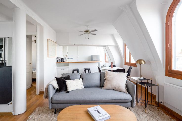1 bedroom furnished apartment in Boulevard de Bonne Nouvelle 2, Grands Boulevards, Paris, photo 1