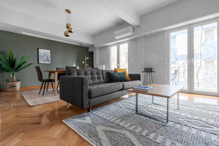 2 bedroom furnished apartment in Kartali 846, Vasilissis Sofias Avenue, Athens, photo 1