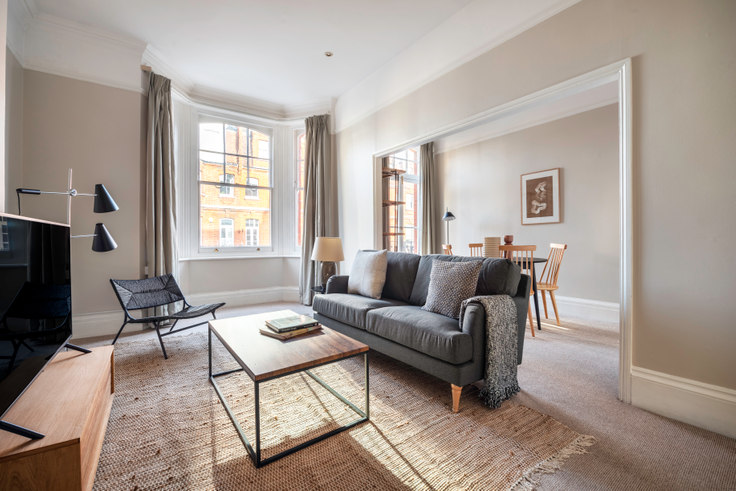 1 bedroom furnished apartment in Callow Street 9, Chelsea, London, photo 1