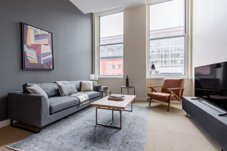 1 bedroom furnished apartment in The Lansburgh, 425 8th St NW 158, Penn Quarter, Washington D.C., photo 1