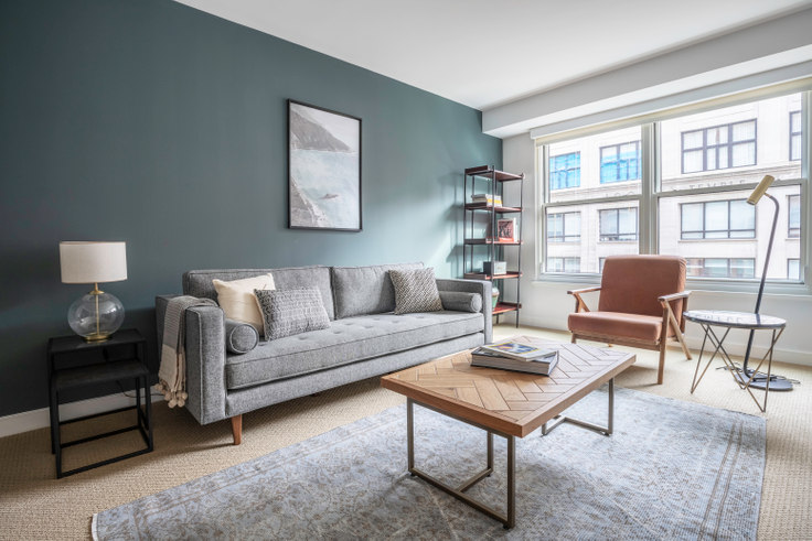 1 bedroom furnished apartment in The Lansburgh, 425 8th St NW 159, Penn Quarter, Washington D.C., photo 1