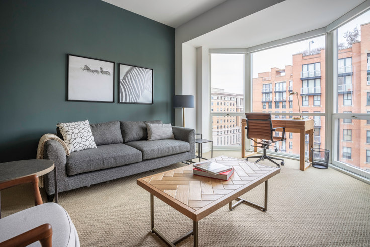 1 bedroom furnished apartment in The Lansburgh, 425 8th St NW 160, Penn Quarter, Washington D.C., photo 1
