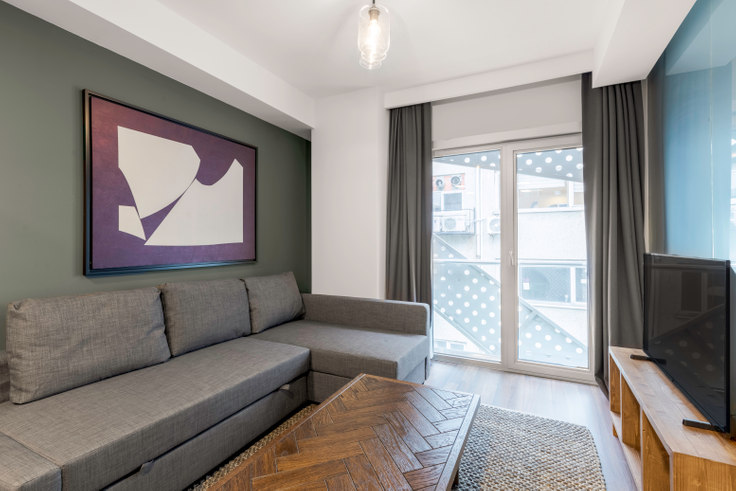 2 bedroom furnished apartment in Motivada - 469 469, Bomonti, Istanbul, photo 1