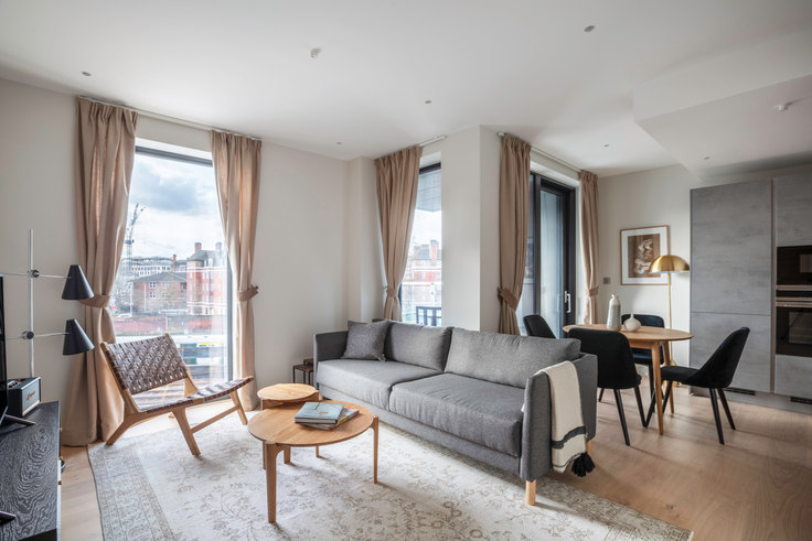 1 bedroom furnished apartment in Sutherland Street 10, Pimlico, London, photo 1