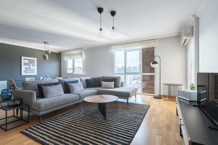3 bedroom furnished apartment in Elysium Cool - 471 471, Sisli, Istanbul, photo 1