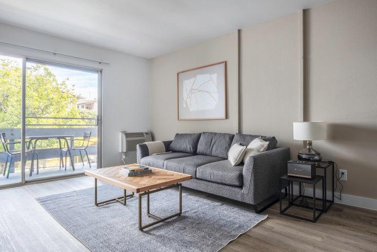 1 bedroom furnished apartment in Violet on Virgil 2, 136 S Virgil Ave 234, Koreatown, Los Angeles, photo 1