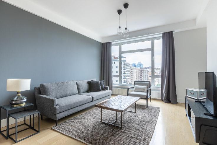 1 bedroom furnished apartment in Selenium Twins - 476 476, Beşiktaş, Istanbul, photo 1