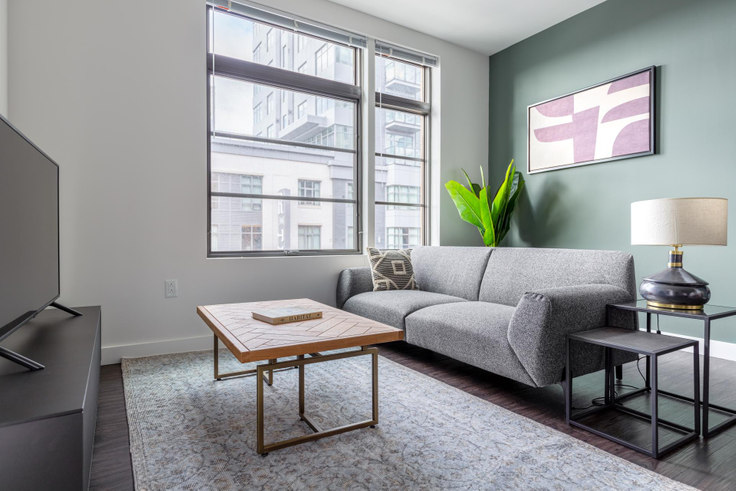 1 bedroom furnished apartment in Montaje, 449 Canal St 228, Somerville, Boston, photo 1