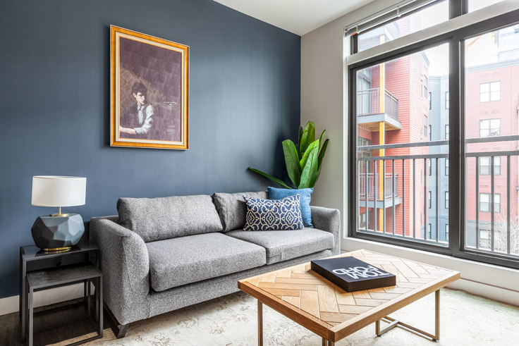 1 bedroom furnished apartment in Montaje, 449 Canal St 229, Somerville, Boston, photo 1