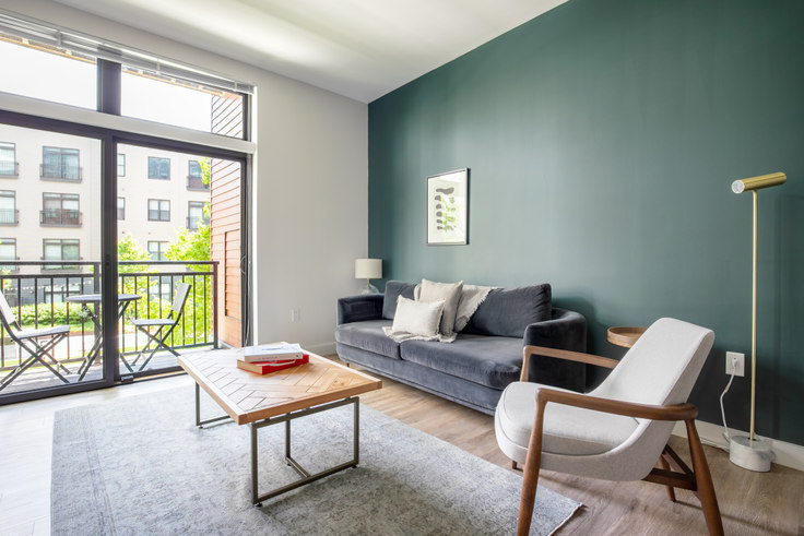 1 bedroom furnished apartment in Montaje, 449 Canal St 232, Somerville, Boston, photo 1