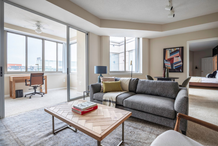 1 bedroom furnished apartment in Meridian at Gallery Place, 450 Massachusetts Avenue NW 166, Mount Vernon, Washington D.C., photo 1