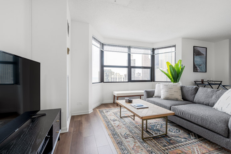 2 bedroom furnished apartment in 1133 N Dearborn St 207, Gold Coast, Chicago, photo 1