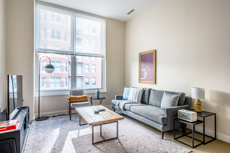 2 bedroom furnished apartment in The Lansburgh, 425 8th St NW 167, Penn Quarter, Washington D.C., photo 1